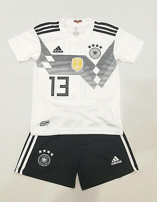 Deutschland Home Trikot Kinder WM 2018 Nr:13 Germany Jersey