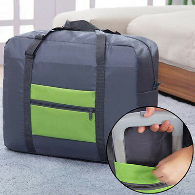 Travel Big Size Foldable Luggage Bag Clothes Storage Carry-On Duffle Bags POP