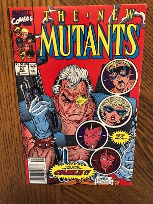 The New Mutants #87 Mar 1990  Marvel 1st Cable!!! First Print!! VF+/NM-