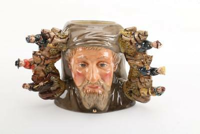 Royal Doulton Character Toby Jug Geoffrey Chaucer D7029 Limited Edition
