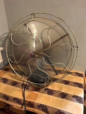 Vintage Oscillating Signal Fan
