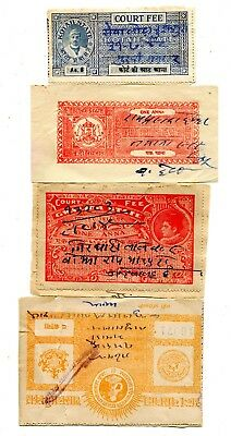India States Lot Of 4 Paper Items 7.50