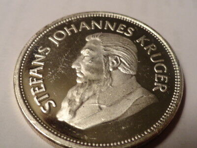 South African Nice  Bu Krugerrand Commemorative (1967-1983) 1 Ounce .999 Silver