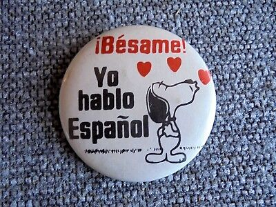 How to say kiss me in spanish