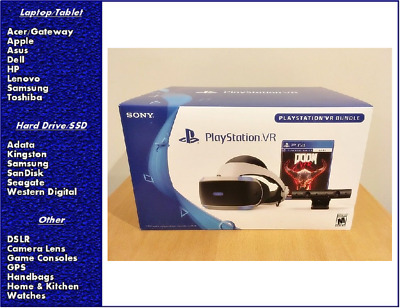 Sony PlayStation VR DOOM VFR Bundle, CUH-ZVR2, New, Sealed