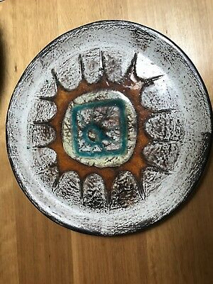 Ellis Australian pottery charger and platter