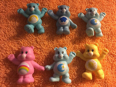 Care Bears Figures Lot Of 6
