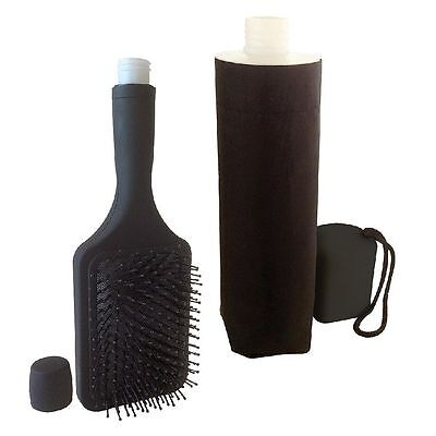 Smuggle Your Alcohol Hidden Flask Combo, Hairbrush and Umbrella ($80 Value)