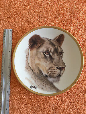 Vintage Lenox Great Cats of the World Collectors Plate 1994 - LIONESS