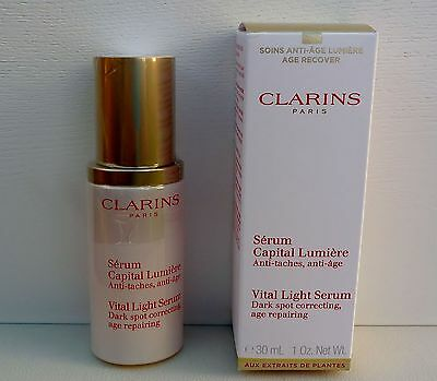 CLARINS Vital Light Serum, 30ml/1oz, Dark Spot Correcting, Brand New in Box!!