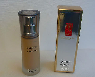 Elizabeth Arden Intervene Makeup SPF 15, #08 Soft Bisque, 30ml, Brand New in Box