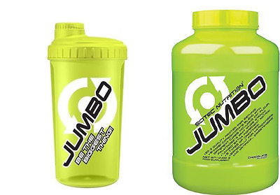 Jumbo 4400g Scitec Nutrition Weight Gainer gout COCOCINO plus SHAKER
