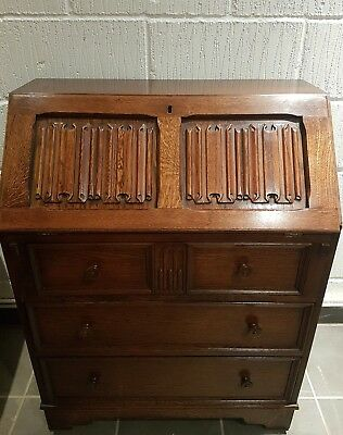 Old charm writing bureau cupboard sideboard desk