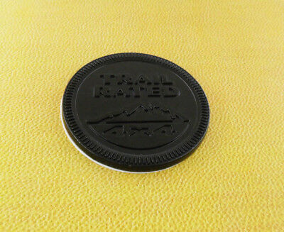 Auto car Black Round TRAIL RATED 4x4 for Wrangler Cherokee Emblem Badge Sticker