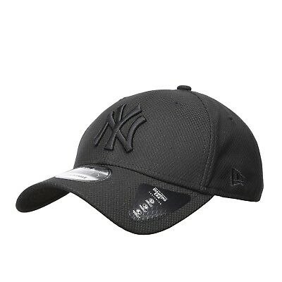 a0174a55030 New Era NY Diamond Era 9Forty Hat Black Baseball Cap Mens Womens 11379836
