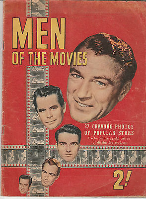Men Of The Movies Mag Circa 1950's Associated General Publications Gordon Gotch