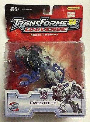 TransFormers UNIVERSE - FrostBite - Unopened, BRAND NEW & SEALED