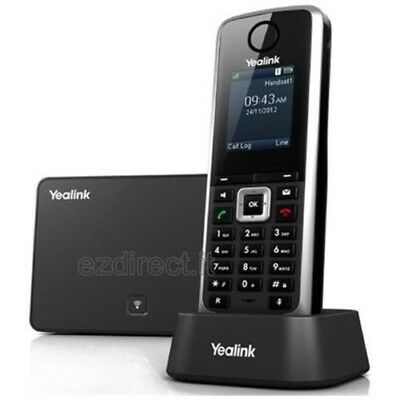 BT Yealink SIP-W52P DECT Cordless IP Phone  5-VoIP Power Over. 2 x Units