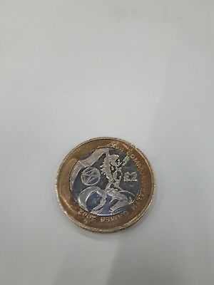 2 pound coin commonwealth games