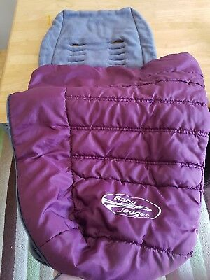 Baby Jogger Purple Footmuff Cosy toes