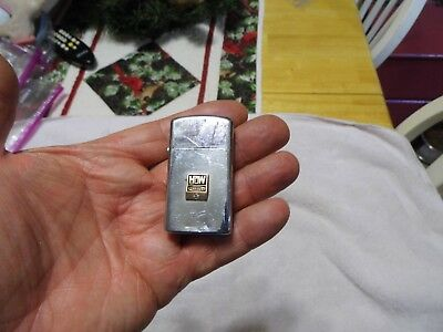 Zippo Lighter 1974/h W Dresser With Diamond/advertising
