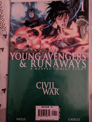 Marvel Comics Young Avengers and Runaways 1 - 4, plus Young Avengers One Shot