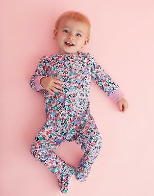 Joules Razamataz Printed Babygrow with Popper Fastening in Kitty Ditsy