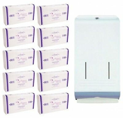 Best Buy Combo Metal Dispenser and Hand Towel Set White Dispenser Combo Pack