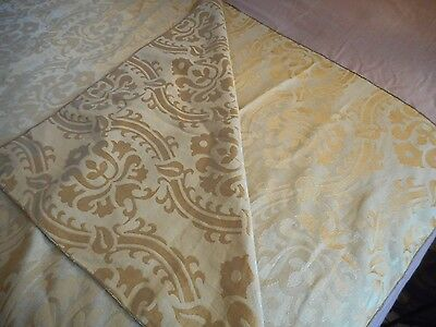 Vintage look SHABBY Tablecloth Cottage French Country Victorian DAMASK Paris