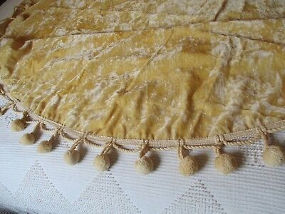 Vintage Velvet SHABBY Tablecloth Cottage French Country Victorian CHIC material