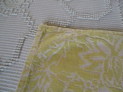 Vintage Pointsetti Tablecloth French Country Cottage Shabby Garden material