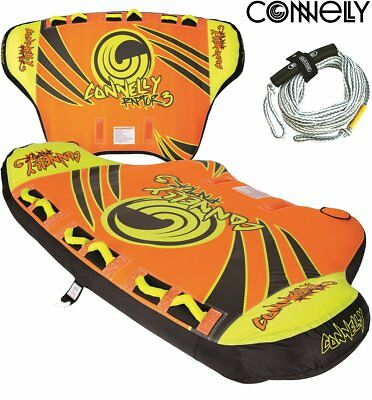 CONNELLY RAPOR 3 Towable Tube for 3 Person Tow Ring Inflatable Ringo Packag
