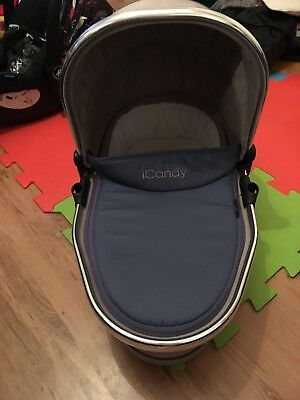 icandy peach 3-Azure lower carrycot