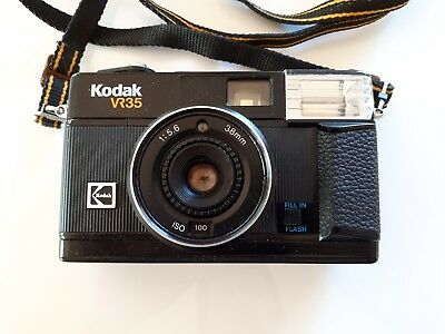 Retro/Vintage Kodak VR35 Film Camera, Collectable