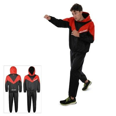 Sauna Sweat Slimming Suit Heavy Duty Men Women Weight Loss Fat Burn Gym Fitness