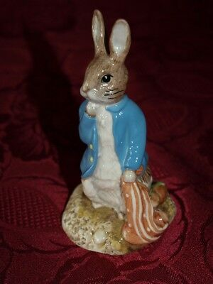 Beswick Beatrix Potter Peter and the Red Pocket Handkerchief