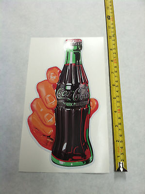 Coca Cola Pop Cola Decal Soda Hand Sticker 12 Inch