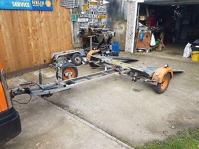 ex rac traier dolly with brakes good condition