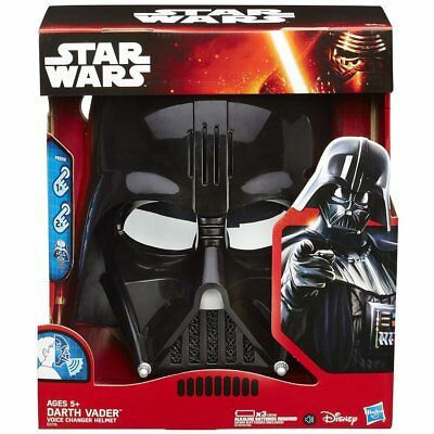 New STAR WARS THE FORCE AWAKENS VOICE CHANGER Helmet DARTH VADER,From Japan