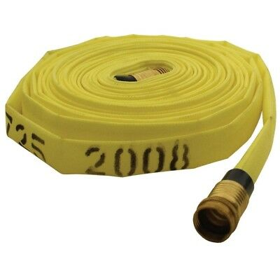 "DIXON NF307Y50GHT Forestry Mop Up Hose 3/4"" x 50ft. 135 psi w/ 3/4"" FGHT & MGHT"