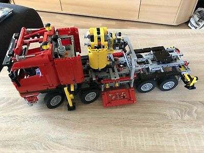 lego technik truck lkw mit kran 8258 eur 135 00. Black Bedroom Furniture Sets. Home Design Ideas