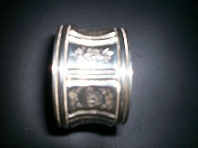 Silver Napkin Ring, Continental, Possibly Austrian