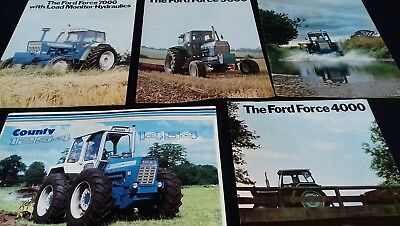 ford tractor brochures 1970s
