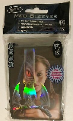 MAX PROTECTION NEO CARD SLEEVES 50 SMALL pochettes protege cartes DRAGON EYE