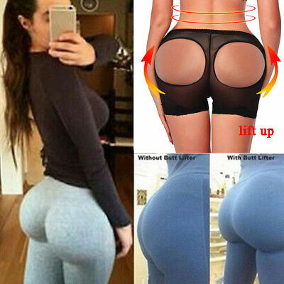 Hip Lifting Underpants Butt Lifter Booster Booty Panty Push Up Buttock Shapewear
