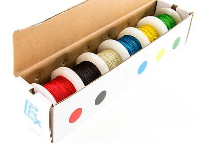 30 Gauge Wire Wrap Kit, Solid Kynar Insulated - 100ft spools