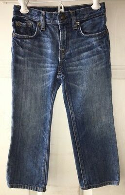 Seven For All Mankind Boys 3T Standard 7 Whiskered Jeans Adjustable