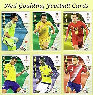 Panini WORLD CUP 2018 ☆ Team Mate ☆ Football Cards #1 to #72