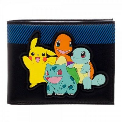 Pokemon Multi Character Bi-Fold Wallet - Officially Licensed Pokemon Accessories