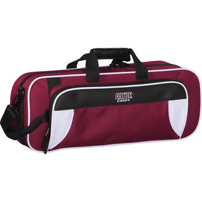 Trumpet Case, White & Maroon - Gator GL-TRUMPET-WM - Lightweight (new open box)